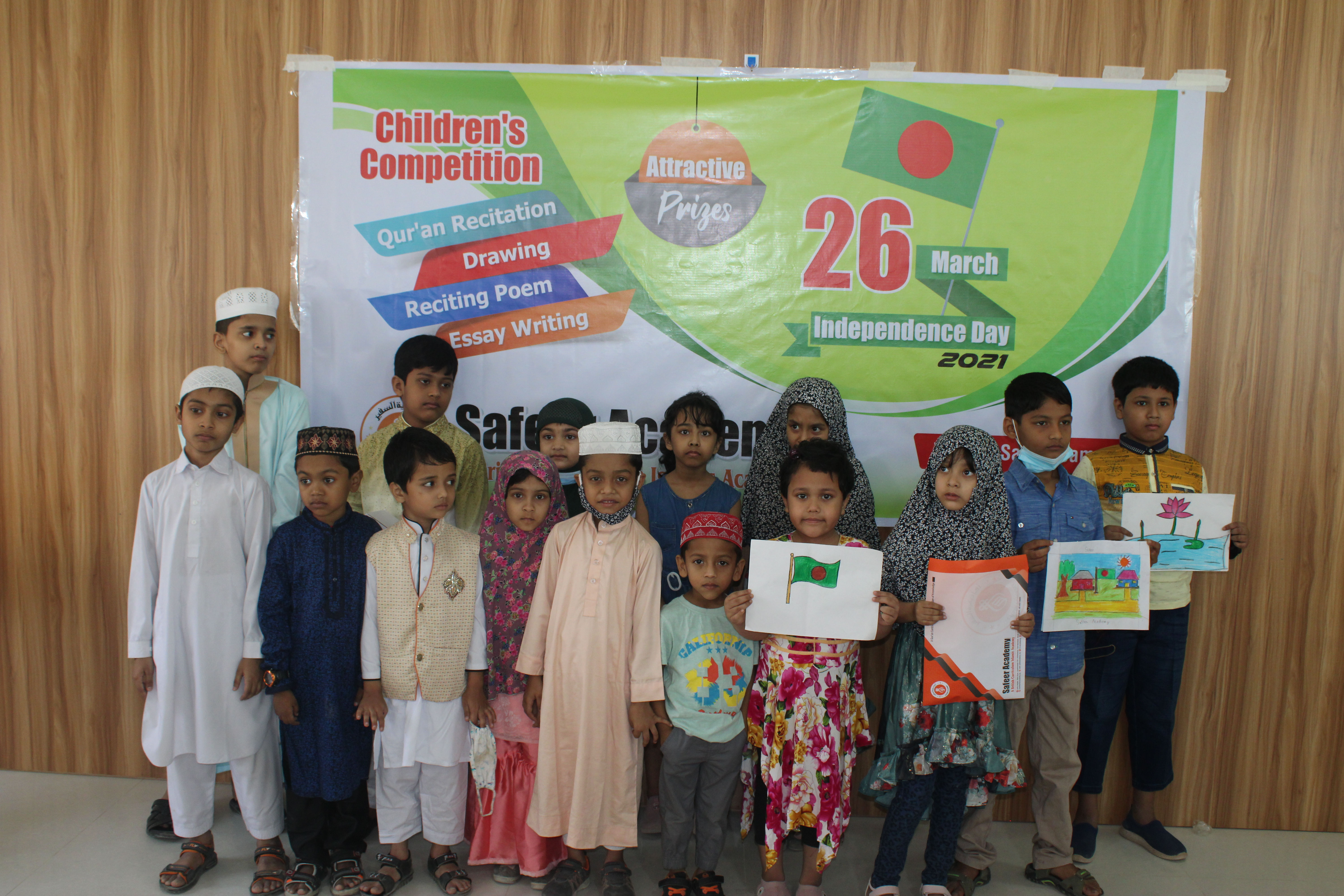 Independence Day'21 observed at Safeer Academy