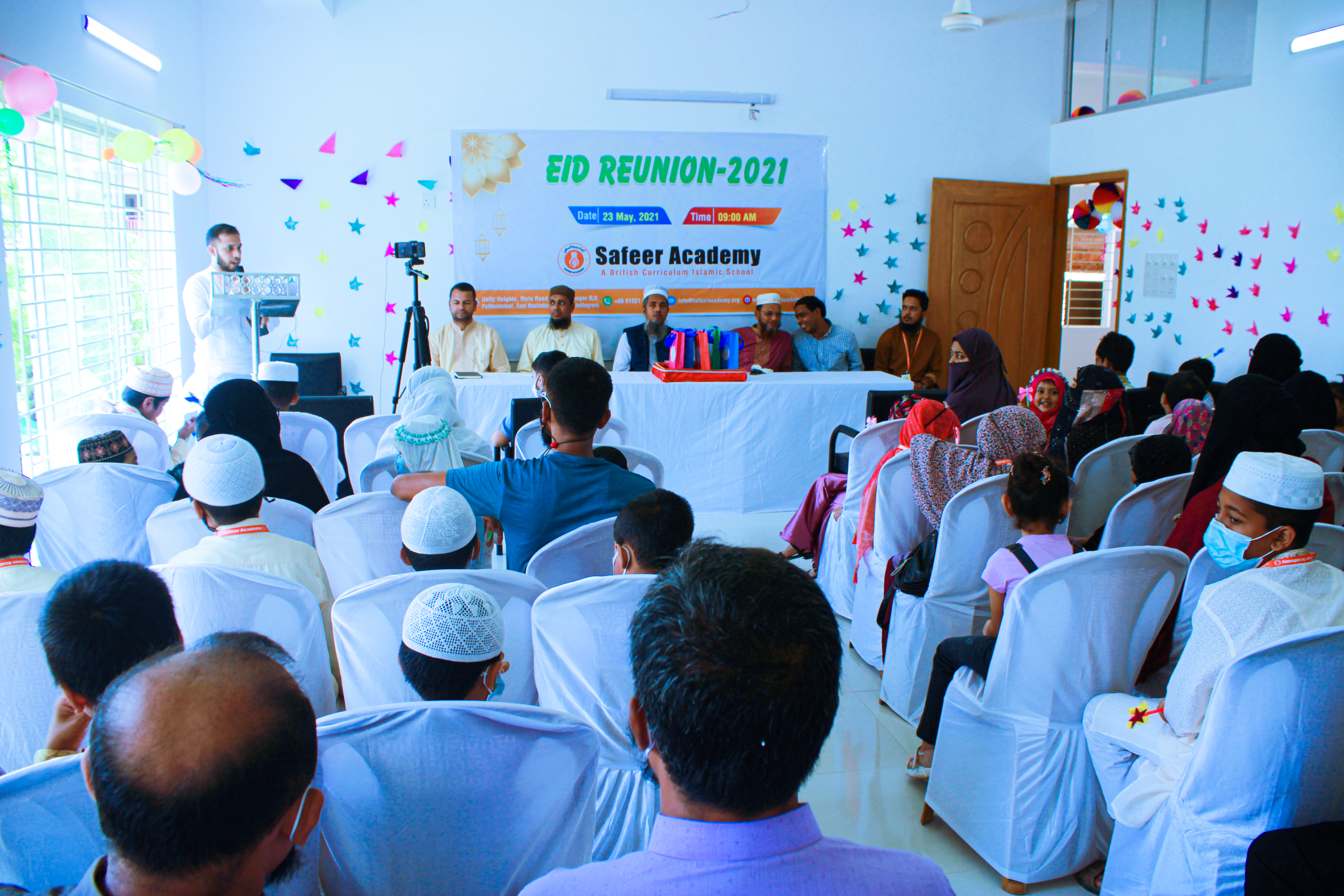 Eid Reunion of Safeer Academy Conducted
